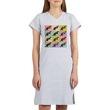 Honey Badger Pop Art Women's Nightshirt