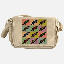 Honey Badger Pop Art Messenger Bag