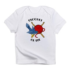Crochet or Die Tattoo Infant T-Shirt