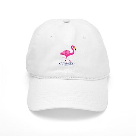 Pink Flamingo on One Leg Cap