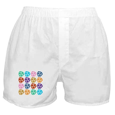 45 RPM Record Adapter Boxer Shorts