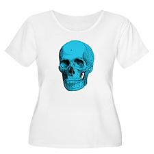 Human Anatomy Skull Women's Plus Size T-Shirt