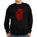 Anatomical Heart Sweatshirt (dark)