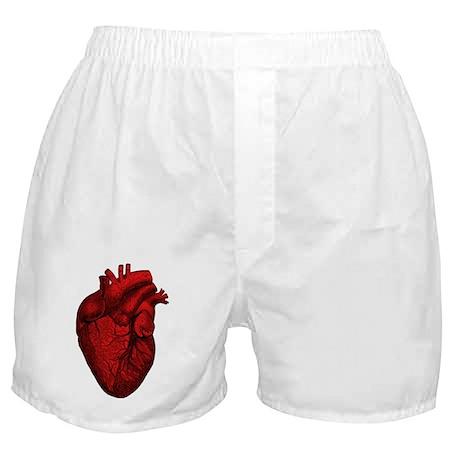 Anatomical Heart Boxer Shorts