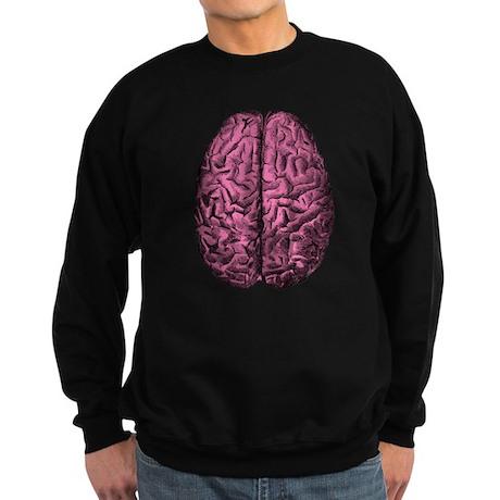 Human Anatomy Brain Sweatshirt (dark)