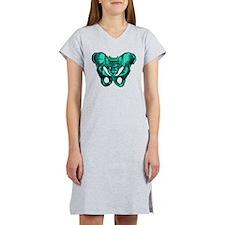 Human Anatomy Pelvis Women's Nightshirt