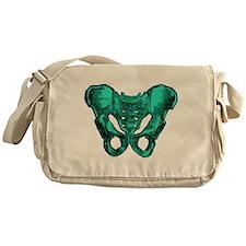 Human Anatomy Pelvis Messenger Bag