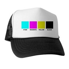 CMYK Four Color Trucker Hat