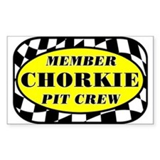 Chorkie PIT CREW Decal