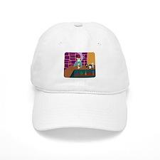 Fez Skull Martini Baseball Cap
