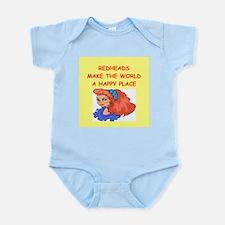 redheads Infant Bodysuit