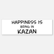 Happiness is Kazan Bumper Bumper Bumper Sticker