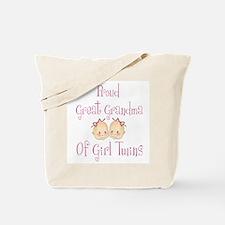 Proud Great Grandma Girls Tote Bag