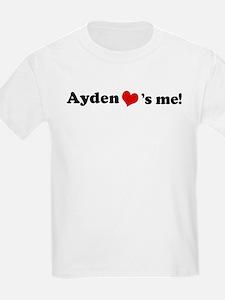 Ayden Loves Me Kids T-Shirt