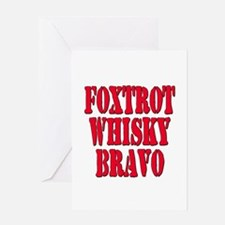 FWB Friends With Benefits Foxtrot Whisky Bravo Gre