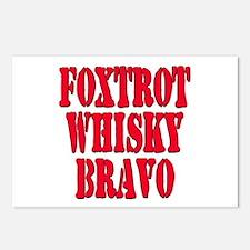FWB Friends With Benefits Foxtrot Whisky Bravo Pos