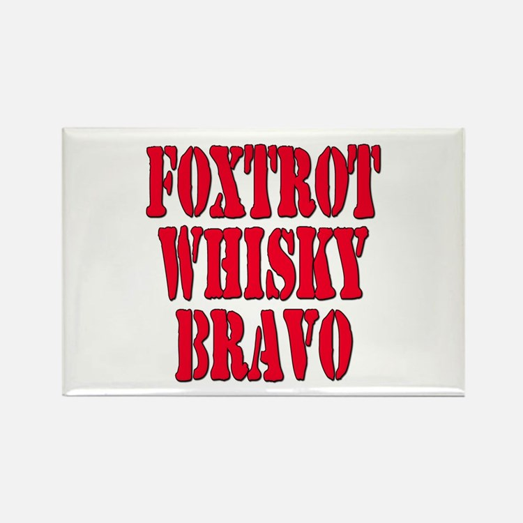 FWB Friends With Benefits Foxtrot Whisky Bravo Rec