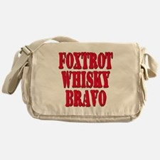 FWB Friends With Benefits Foxtrot Whisky Bravo Mes