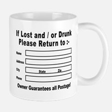 If Lost and / or Drunk Mug