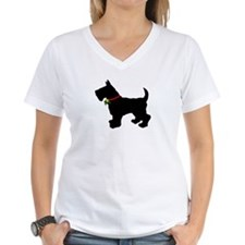 Scottish Terrier Silhouette Shirt