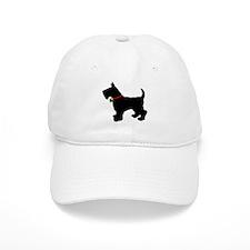 Scottish Terrier Silhouette Baseball Cap