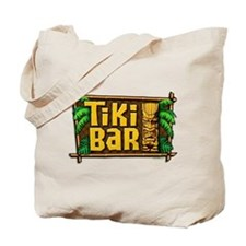 Tiki Bar Tote Bag