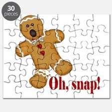 Oh Snap! Gingerbread Man Puzzle
