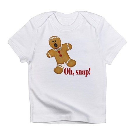 Oh Snap! Gingerbread Man Infant T-Shirt