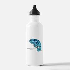 Panther Chameleon Water Bottle