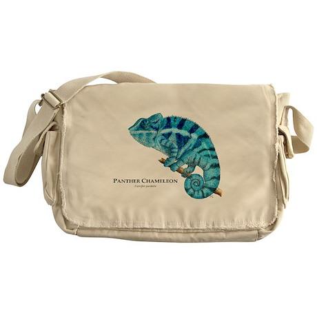 Panther Chameleon Messenger Bag