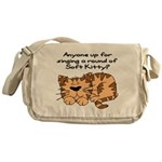 Singing a round of Soft Kitty Messenger Bag
