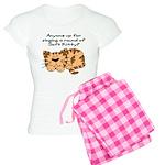 Singing a round of Soft Kitty Women's Light Pajama