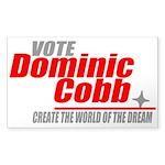 Vote Cobb Sticker (Rectangle)