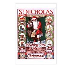 Cute Nicholas Postcards (Package of 8)