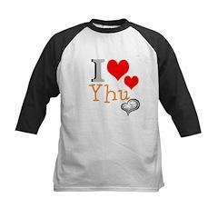 OYOOS I Love Yhu Heart design Tee