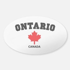 Ontario Sticker (Oval)
