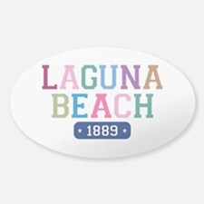 Laguna Beach 1889 Sticker (Oval)