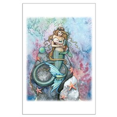 Mother and Baby Fairy Fantasy Art by Posters