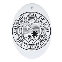 Lost University Ornament (Oval)