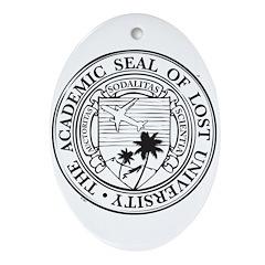Lost University Ornament (Oval)