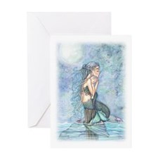 Mother and Baby Fairy Fantasy Art by Greeting Card