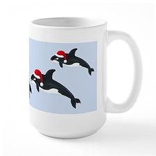 Santa - Whale Mug