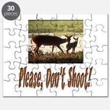 PLEASE DON'T SHOOT THE DEER Puzzle