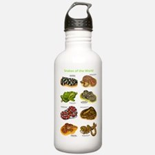 Snakes of the World Water Bottle
