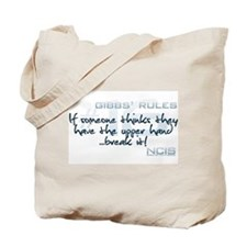 Gibbs' Rules #16 - Upper Hand... Tote Bag