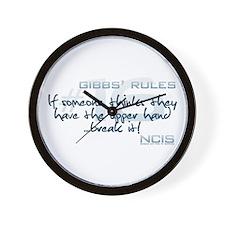 Gibbs' Rules #16 - Upper Hand... Wall Clock