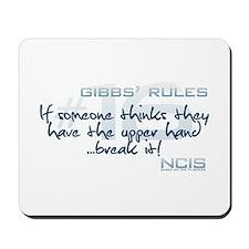 Gibbs' Rules #16 - Upper Hand Mousepad