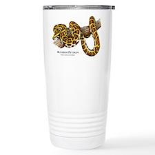 Burmese Python Travel Mug