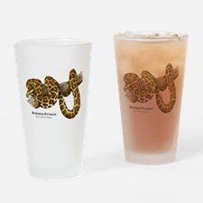 Burmese Python Drinking Glass