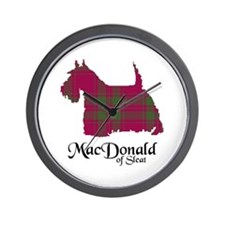 Terrier - MacDonald of Sleat Wall Clock